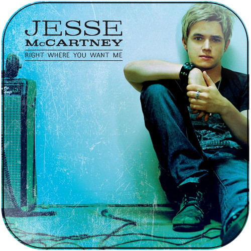 Jesse McCartney - Right Where You Want Me-1 Album Cover Sticker