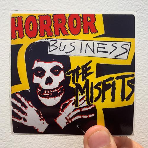 Misfits Horror Business Album Cover Sticker