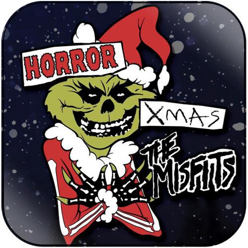 Misfits Horror Xmas Album Cover Sticker