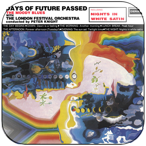The Moody Blues Days Of Future Passed-1 Album Cover Sticker
