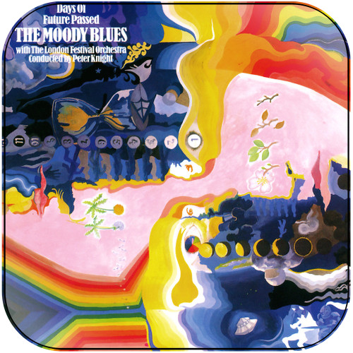 The Moody Blues Days Of Future Passed-2 Album Cover Sticker