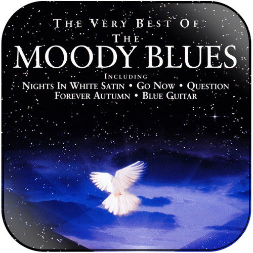 The Moody Blues The Very Best Of The Moody Blues Album Cover Sticker