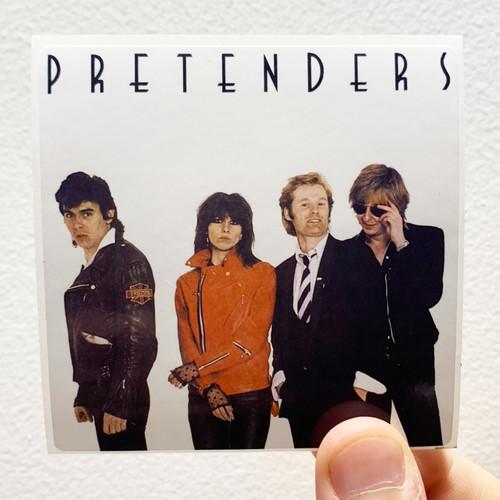The Pretenders The Pretenders Album Cover Sticker