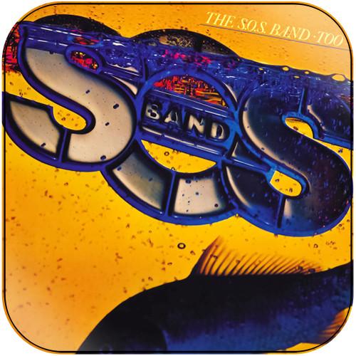 The SOS Band Too Album Cover Sticker