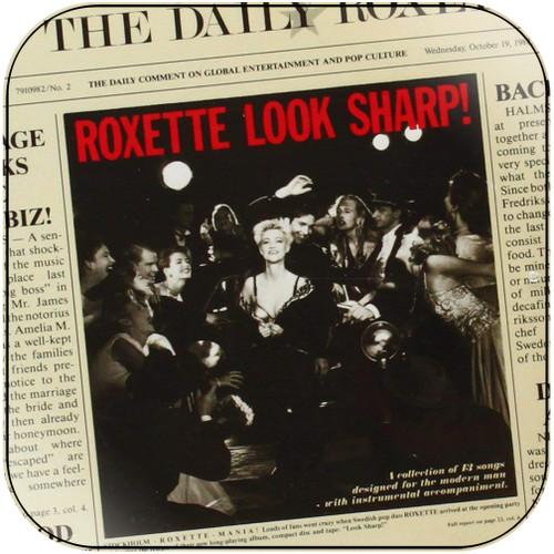Roxette Look Sharp Album Cover Sticker