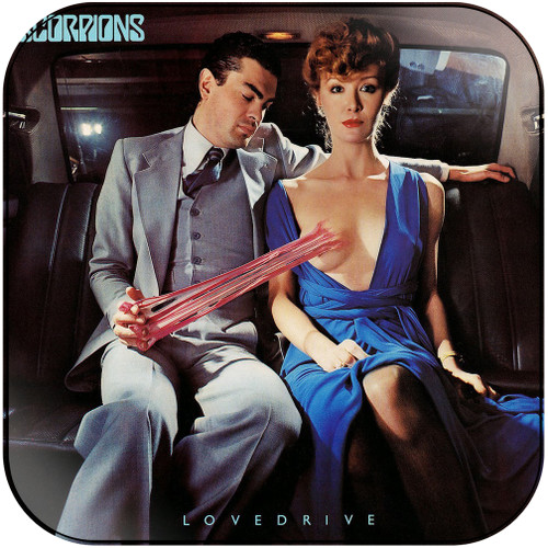 Scorpions Lovedrive-2 Album Cover Sticker