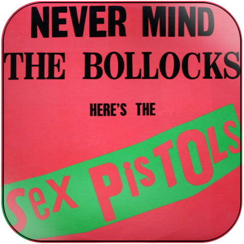 Sex Pistols Never Mind The Bollocks Heres The Sex Pistols-1 Album Cover Sticker