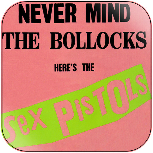 Sex Pistols Never Mind The Bollocks Heres The Sex Pistols-3 Album Cover Sticker