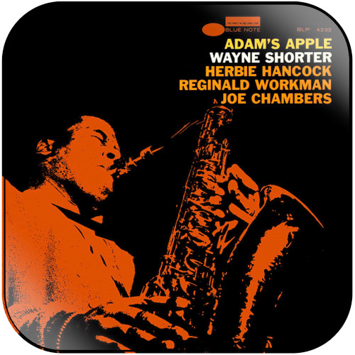 Wayne Shorter Adams Apple Album Cover Sticker