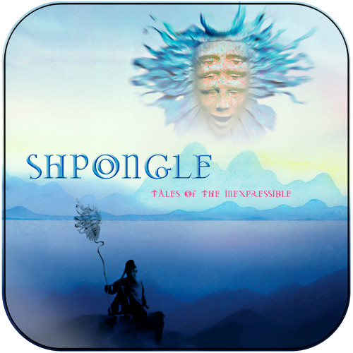 Shpongle Tales Of The Inexpressible Album Cover Sticker