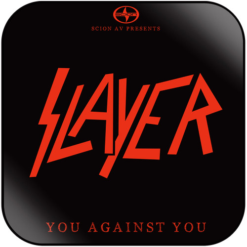 Slayer You Against You Album Cover Sticker