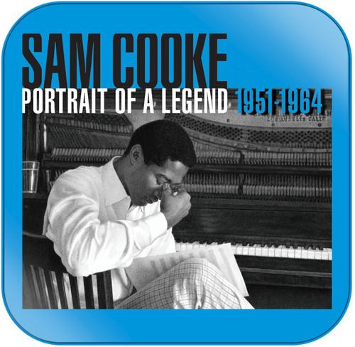 Sam Cooke Portrait of a Legend Album Cover Sticker