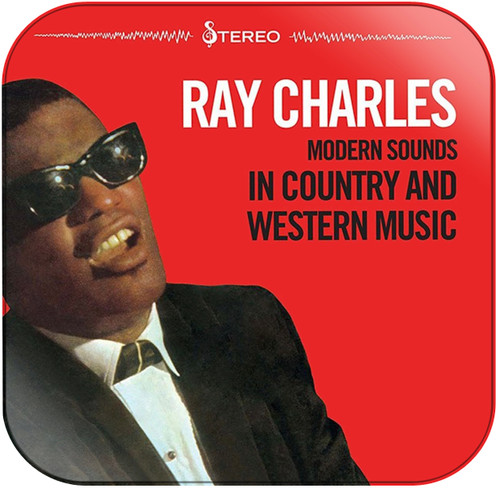 Ray Charles Modern Sounds in Country and Western Music Album Cover Sticker