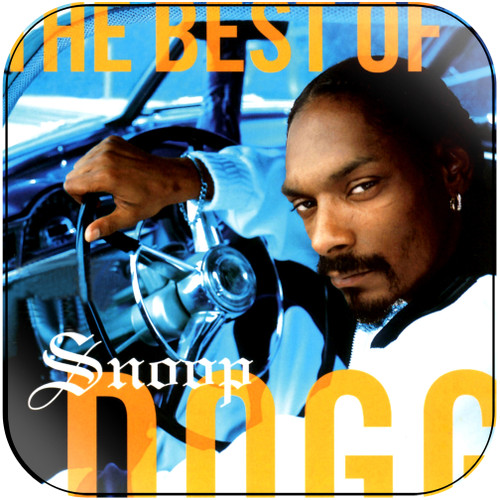 Snoop Dogg The Best Of Snoop Dogg Album Cover Sticker