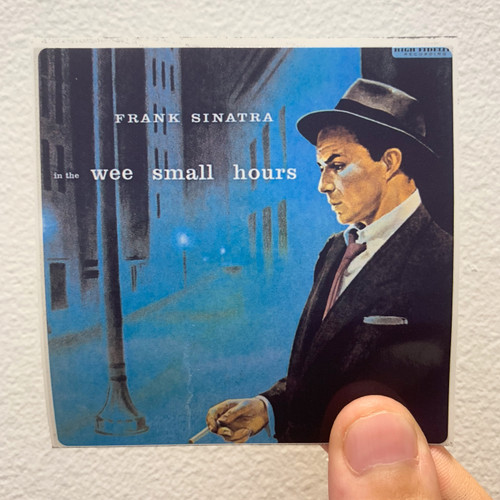 Frank Sinatra In the Wee Small Hours Album Cover Sticker