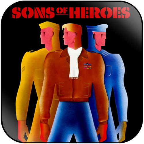 Sons of Heroes Sons Of Heroes Album Cover Sticker