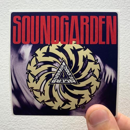 Soundgarden Badmotorfinger-1 Album Cover Sticker
