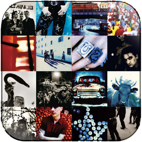 U2 Achtung Baby Album Cover Sticker Album Cover Sticker