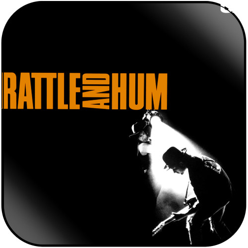 U2 Rattle And Hum Album Cover Sticker Album Cover Sticker