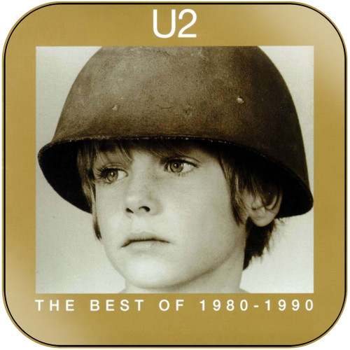 U2 The Best Of 1980 1990 Album Cover Sticker Album Cover Sticker