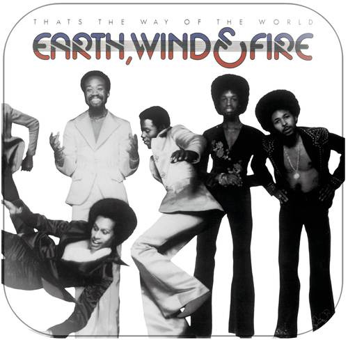 Earth Wind and Fire Thats the Way of the World Album Cover Sticker