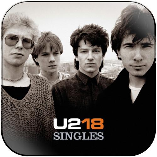U2 U218 Singles Album Cover Sticker Album Cover Sticker