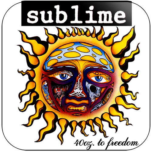 Sublime 40 Oz To Freedom-2 Album Cover Sticker