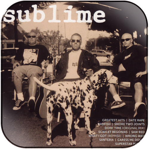 Sublime Icon Album Cover Sticker