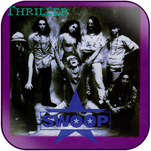 Swoop Thriller Album Cover Sticker