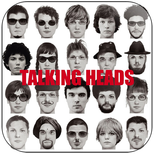 Talking Heads The Best Of Talking Heads Album Cover Sticker