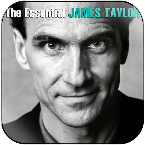 James Taylor The Essential James Taylor Album Cover Sticker