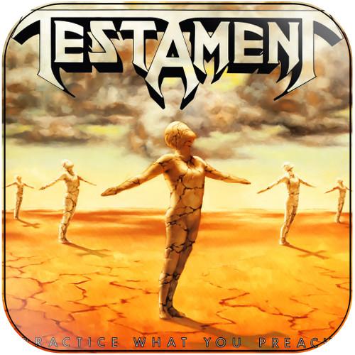 Testament Practice What You Preach Album Cover Sticker
