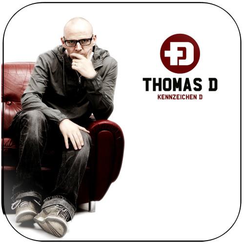 Thomas D Kennzeichen D Album Cover Sticker