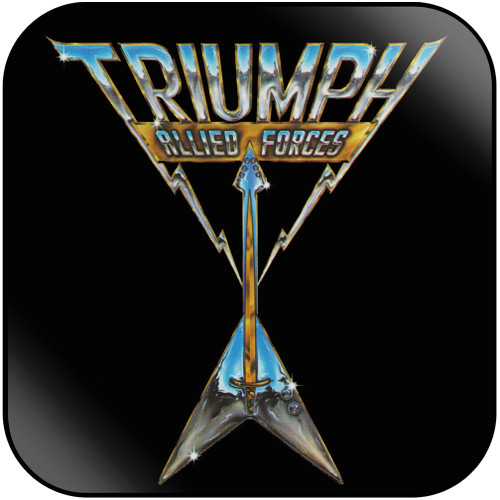 Triumph Allied Forces Album Cover Sticker