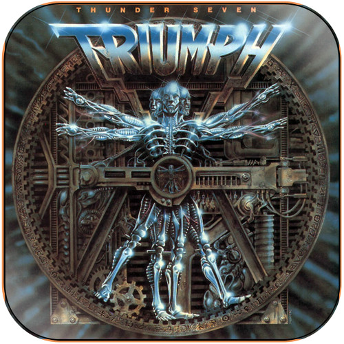 Triumph Thunder Seven Album Cover Sticker