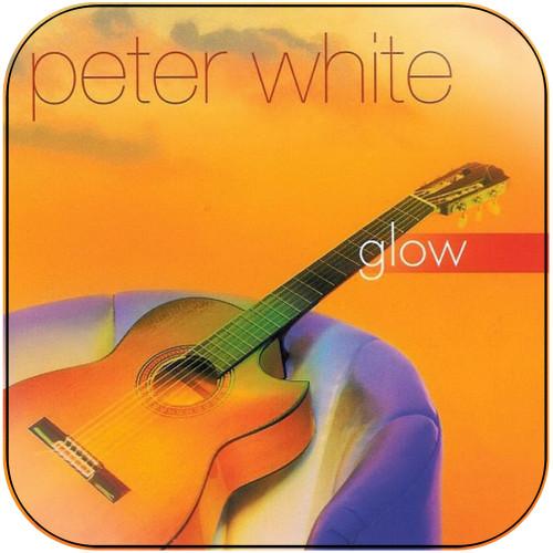Peter White Glow Album Cover Sticker