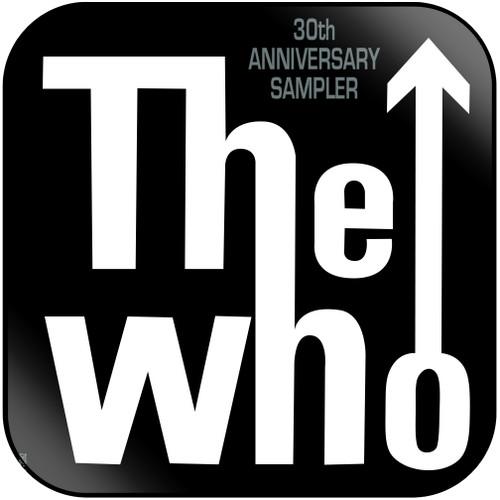 The Who 30Th Anniversary Sampler Album Cover Sticker