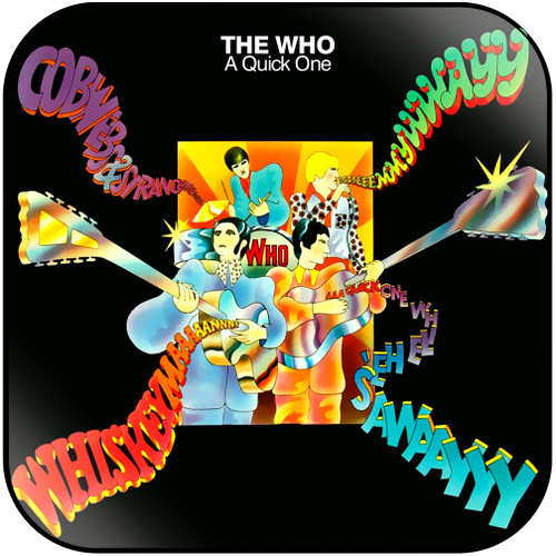 The Who A Quick One Album Cover Sticker
