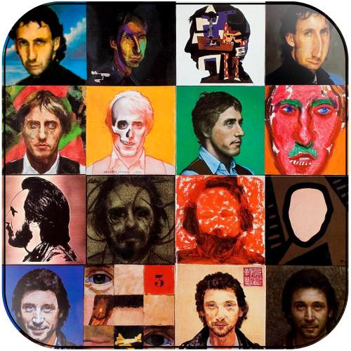 The Who Face Dances Album Cover Sticker