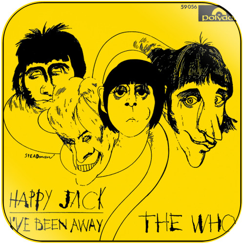 The Who Happy Jack Album Cover Sticker