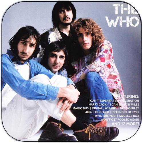 The Who Icon 2 Album Cover Sticker