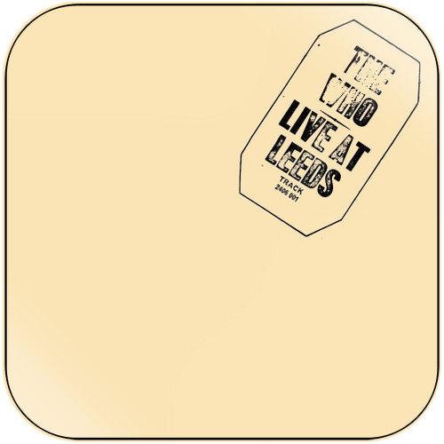 The Who Live At Leeds-2 Album Cover Sticker