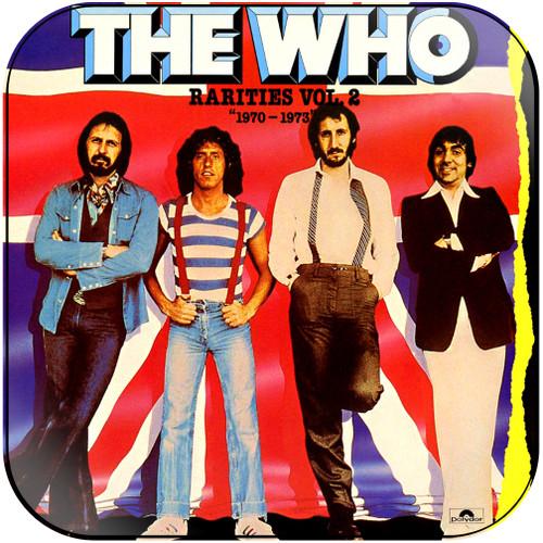 The Who Rarities Volume 2 19701973 Album Cover Sticker