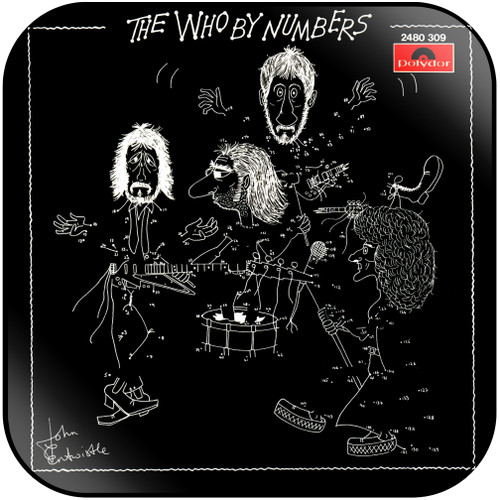 The Who The Who By Numbers-2 Album Cover Sticker