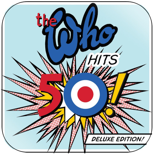 The Who The Who Hits 50-1 Album Cover Sticker