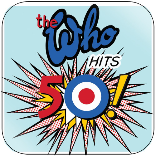 The Who The Who Hits 50-2 Album Cover Sticker
