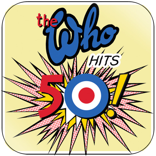 The Who The Who Hits 50-3 Album Cover Sticker