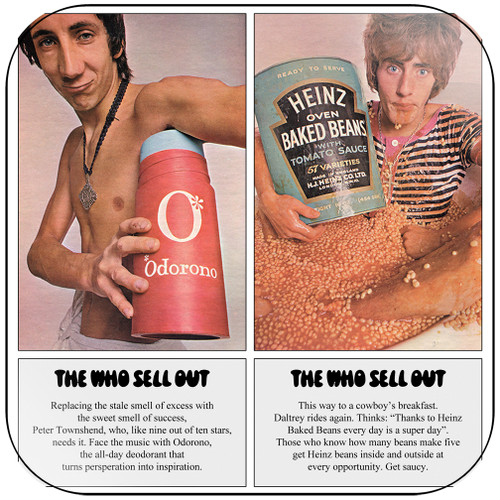 The Who The Who Sell Out-1 Album Cover Sticker