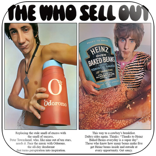 The Who The Who Sell Out-2 Album Cover Sticker