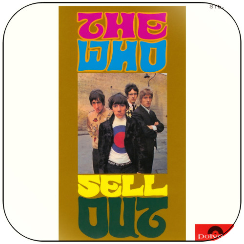 The Who The Who Sell Out-3 Album Cover Sticker